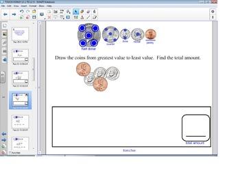 Smart Board Math: Touch Money