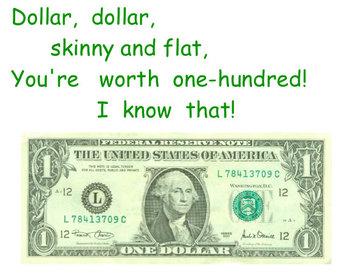 Smart Board Money Poems Common Core Supplement