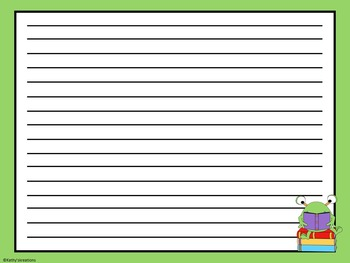Smart Board Morning Message Template Monsters