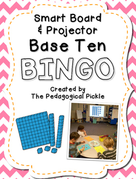 Smart Board & Projector Base Ten Bingo (Place Value Bingo)