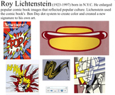 Smart Board Roy Lichtenstein Words