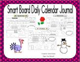 Smart Board School Year Daily Calendar Journal