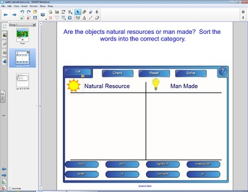 Smart Board Social Studies: Earth's Natural Resources