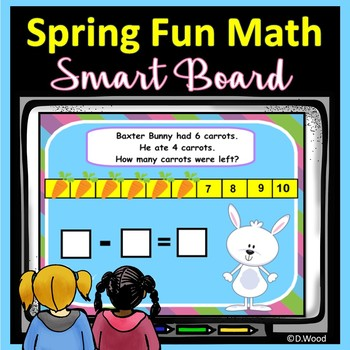 SMARTboard Math Spring: Addition, Subtraction & Word Problems
