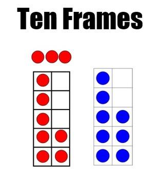 Smart Board Ten Frames & Chips