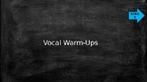 Smart Board Vocal Warm-Up Accompaniments