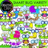 Smart Bug Clipart Variety (Insect Clipart)