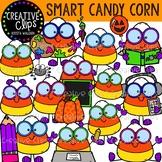 Smart Candy Corn Clipart {Creative Clips Clipart}
