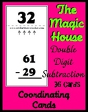 Smart Chute Style Cards - Magic House - Double Digit Subtr