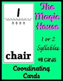 Smart Chute Style Cards -  Teaching Syllable Recognition -