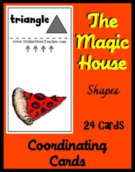 Smart Chute Style Shape Cards Deck Teaching Shapes