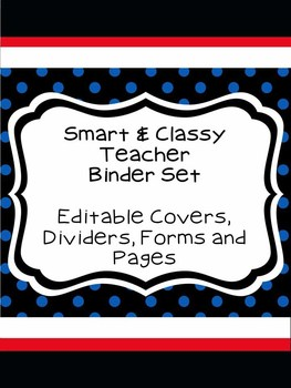 Smart & Classy Teacher Binder Set
