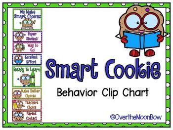 Smart Cookie Behavior Clip Chart