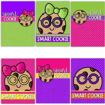 Smart Cookie Binder Covers