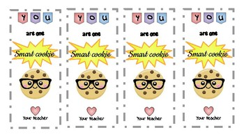 Smart Cookie Bookmark