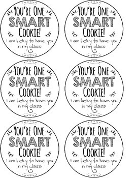 Smart Cookie Cut Out Goodie