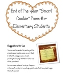 """Smart Cookie"" End of the Year Poem for K-5 Students :)"