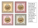 Smart Cookie Beginning of Year Gift Tags