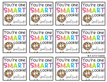 Smart Cookie Gift Tags
