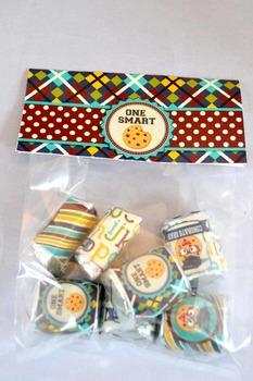 Smart Cookie Graduation printable bag toppers