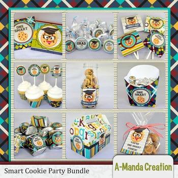 Smart Cookie Graduation printable bundle