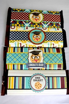 Smart Cookie Graduation printable candy bar wrappers