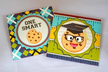 Smart Cookie Graduation printable cookie envelopes
