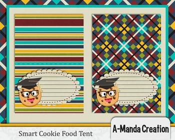 Smart Cookie Graduation printable food tent labels
