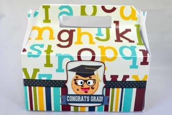 Smart Cookie Graduation printable gable box