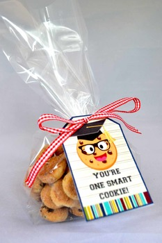 Smart Cookie Graduation printable tags