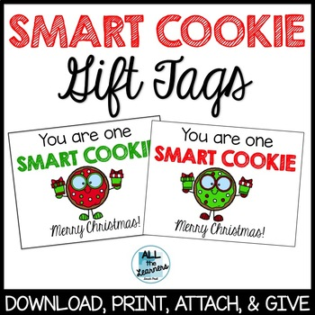 Smart Cookie Labels (Christmas)