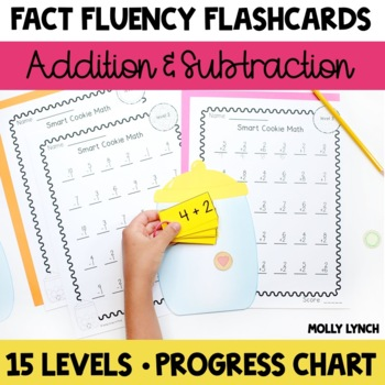 Smart Cookie Math Flashcards - Mastering Addition & Subtraction