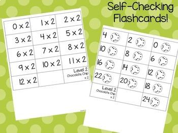 Smart Cookie Math Multiplication Flashcards
