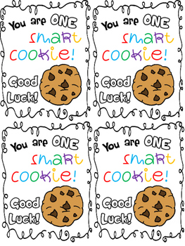 photo regarding You're One Smart Cookie Printable identify Wise Cookie Screening Worksheets Education Materials TpT