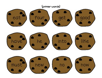 Smart Cookie Sight Word Game OVER 220 Words!!!