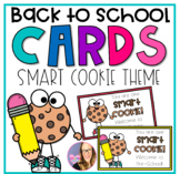 Smart Cookie Student Gift Tags for Back to School