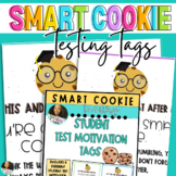 Smart Cookie Student Test Motivation Treat Tags