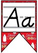 Smart Cookie Themed Alphabet Banner with D'Nealian Print