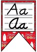Smart Cookie Themed Alphabet Banner with D'Nealian Print and Cursive