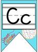 Smart Cookie Themed Alphabet Banner with Zaner Bloser Print