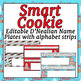 Smart Cookie Themed Bundle - 9 Products D'Nealian font