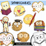 Smart Cookies Back to School Clip Art Set