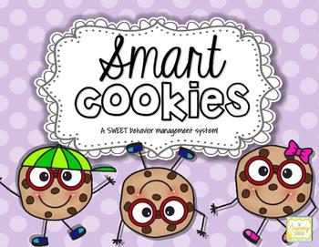 Smart Cookies! Behavior Management System...FREEBIE!