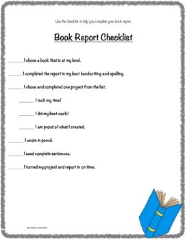 Choose Your Own Book Report