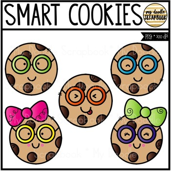 smart cookies clip art for personal commercial use by my doodle rh teacherspayteachers com clip art cookie jar clip art cookies free
