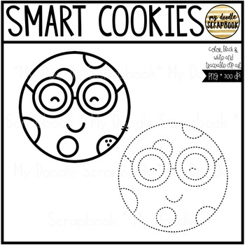 Smart Cookies (Clip Art for Personal & Commercial Use)