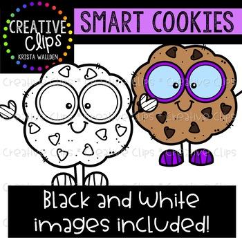 Smart Cookies {Creative Clips Clipart}