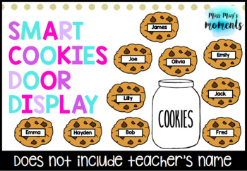 Smart Cookies Door Display