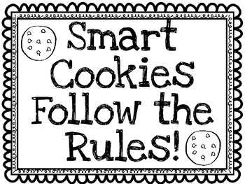 Smart Cookies Follow The Rules