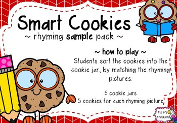 Smart Cookies - Rhyming Game (Sample)